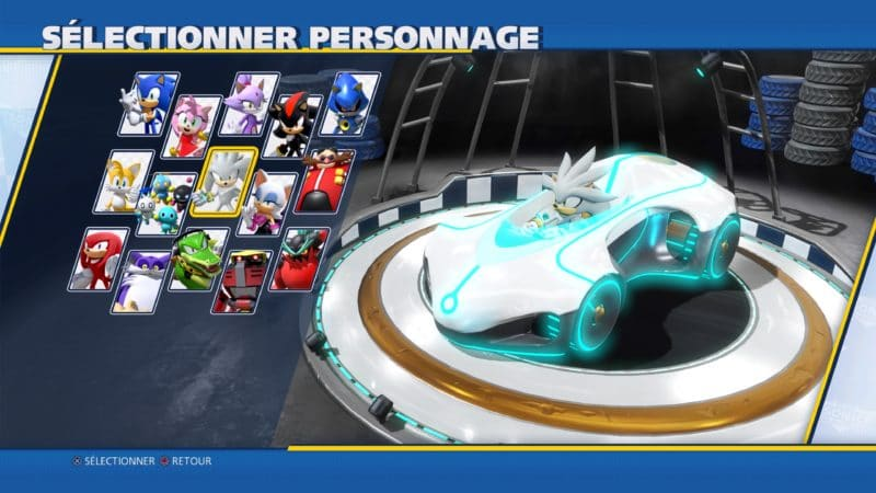 Roster Team Sonic Racing