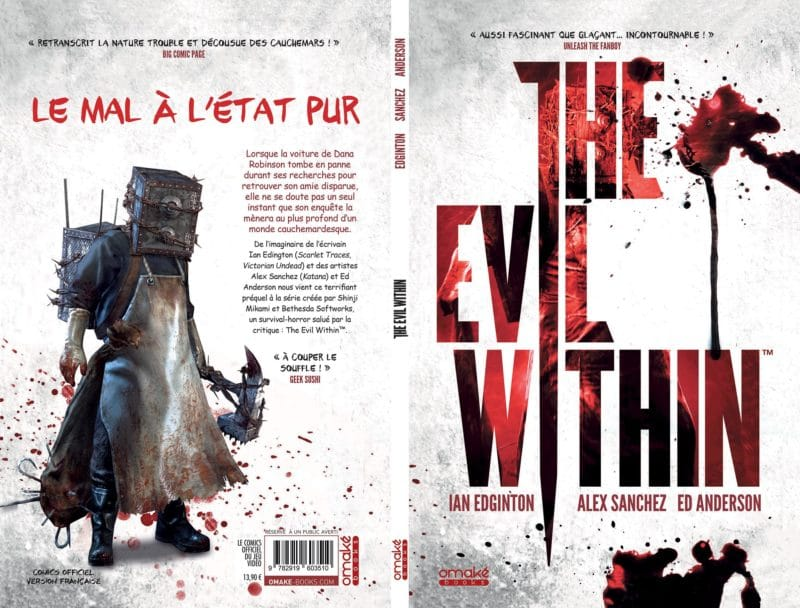 The Evil Within couverture face et verso