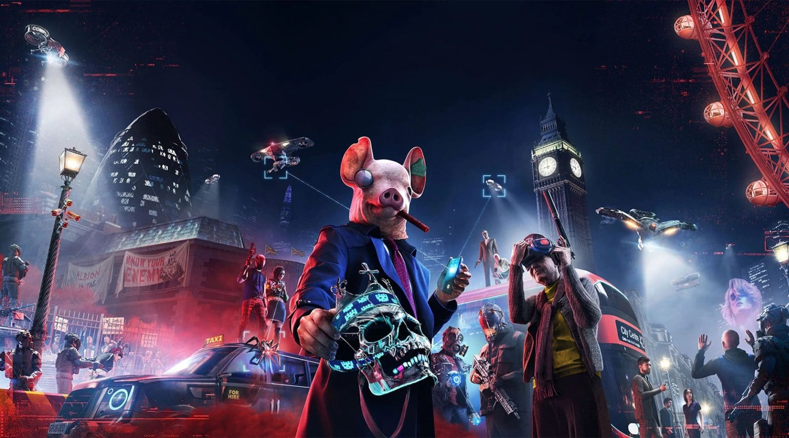 PC): Watch Dogs Legion dévoile sa Collector (Watch Dogs Legion