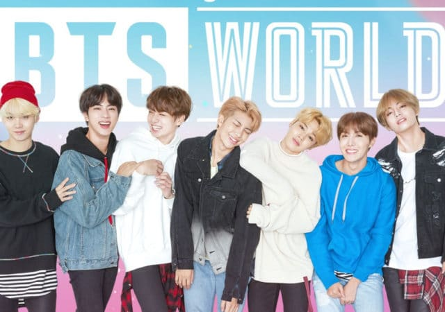 BTS world jeu mobile kpop