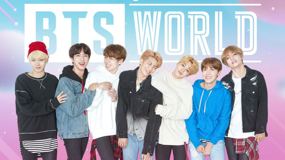 BTS world jeu mobile kpop