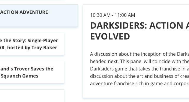 Planning Darksiders