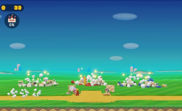 Super Mario Maker 2 création château