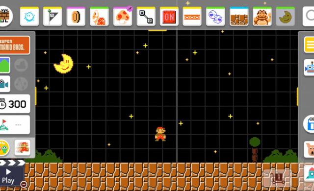 Super Mario Maker 2 nuit