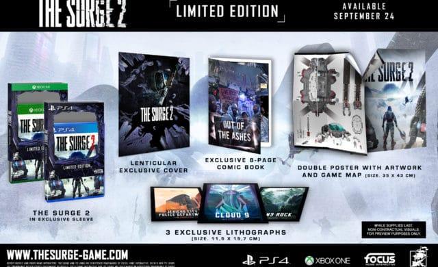 Deck13 Interactive nous présente l'édition limitée de The Surge 2