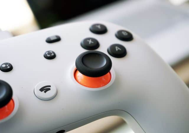 Stadia Connect Controller manette
