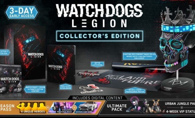 édition collector du jeu Watch Dogs Legion