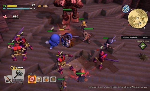 Dragon Quest Builder 2 attaque spéciale