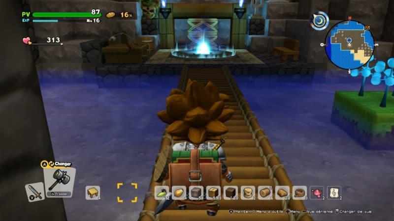 Dragon Quest Builder 2 téléportail