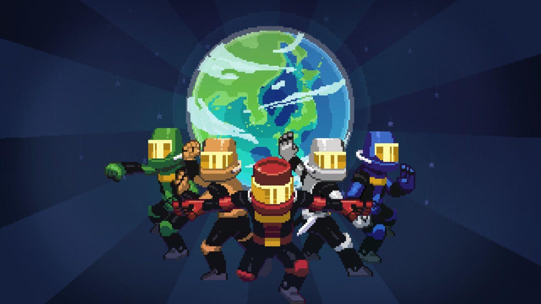 Chroma Squad - pose