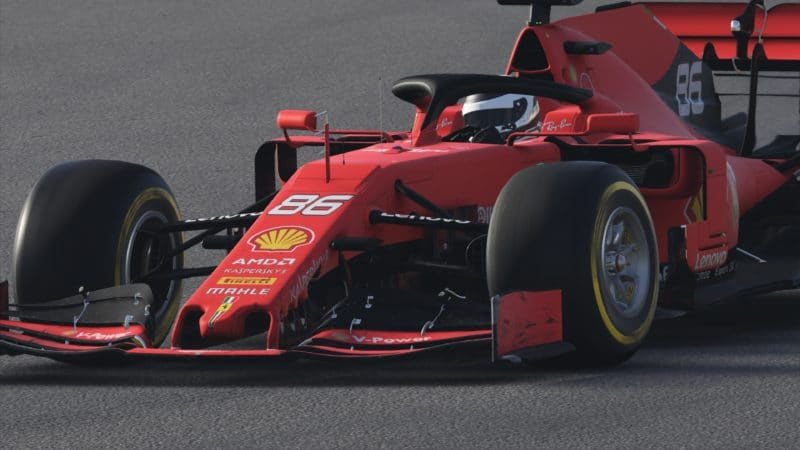 Test F1 2019 Ferarri