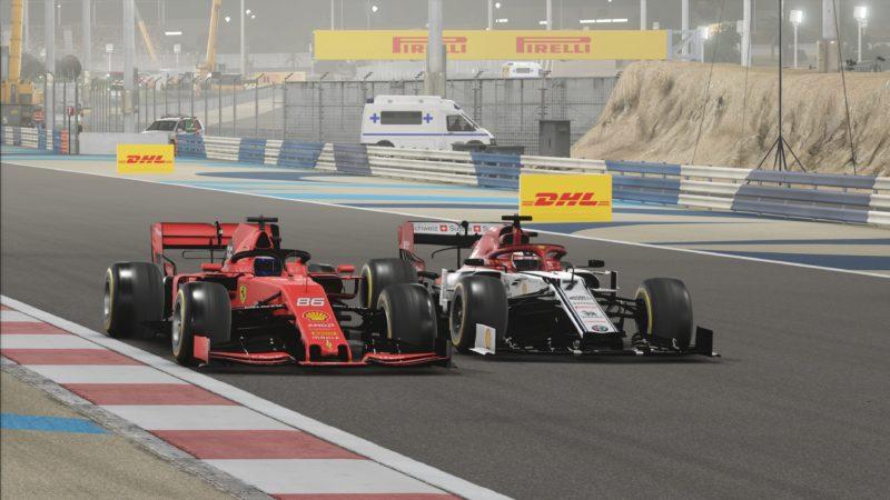 Test F1 2019 Ferrari vs Alfa Romeo