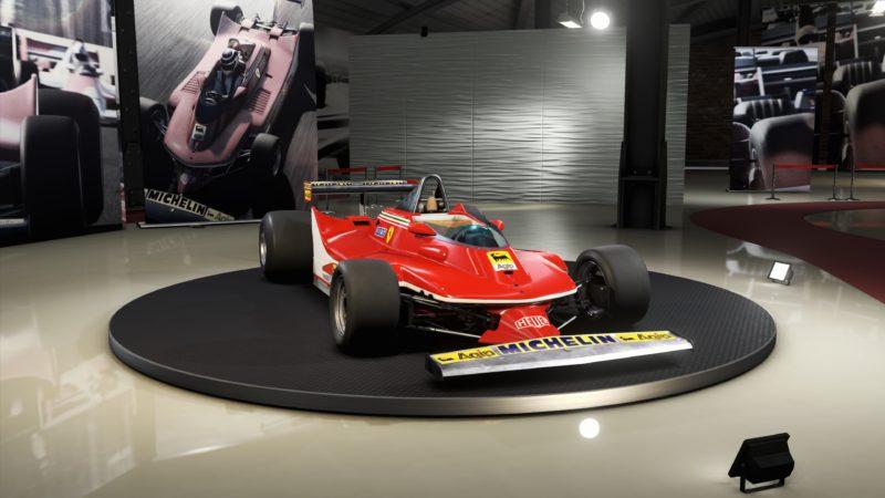 Test F1 2019 old Ferrari