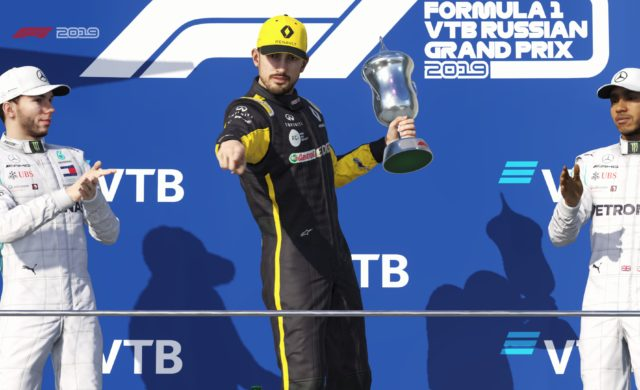 Test F1 2019 victoire