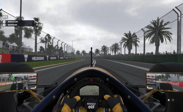 Test F1 2019 Renault prost
