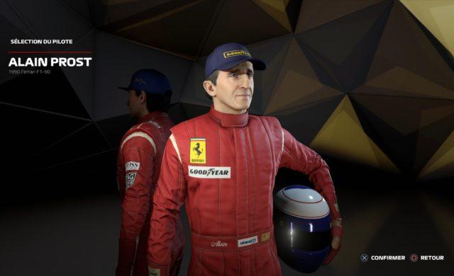 Test F1 2019 Alain Prost