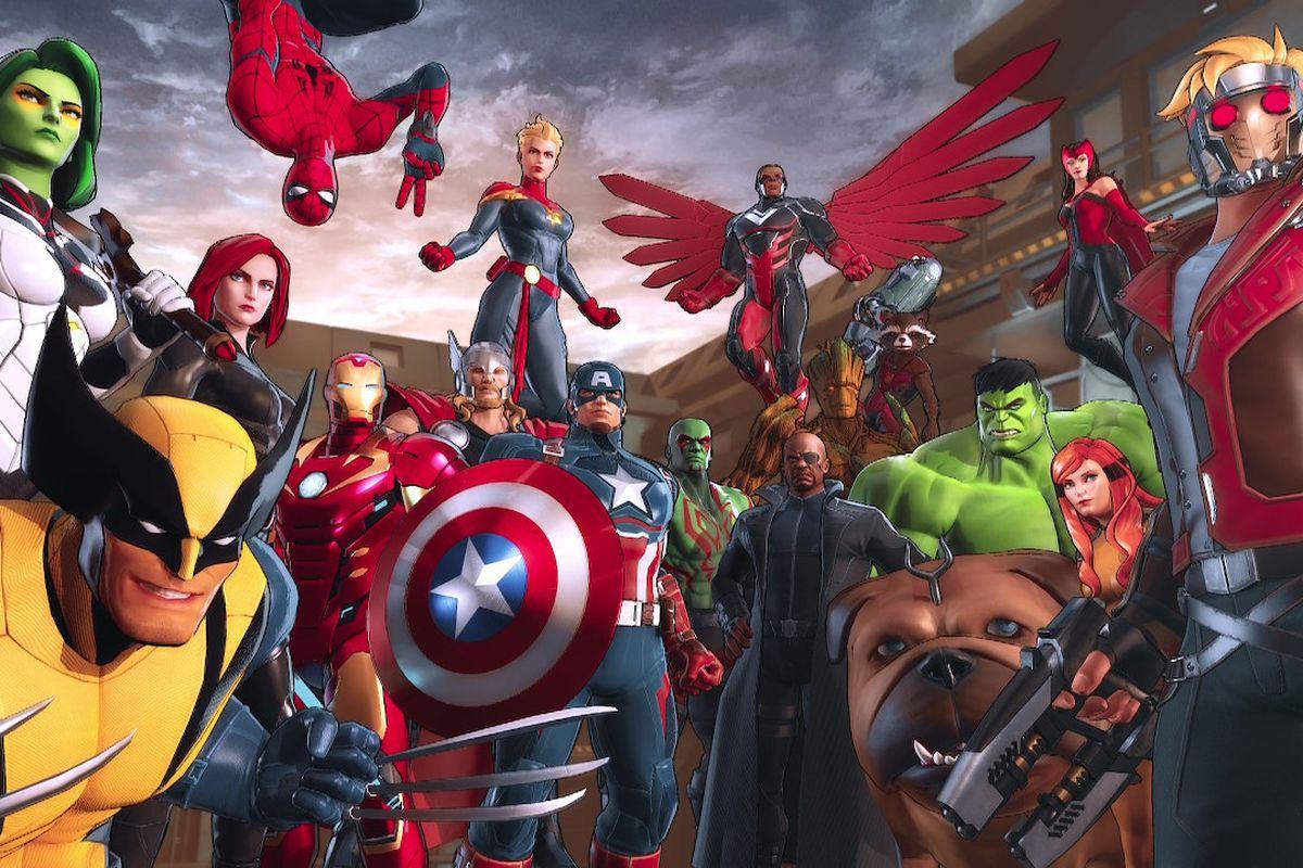 Marvel Ultimate Alliance - Black Order - Casting blindé