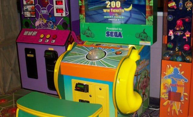Super Monkey Ball arcade trackball