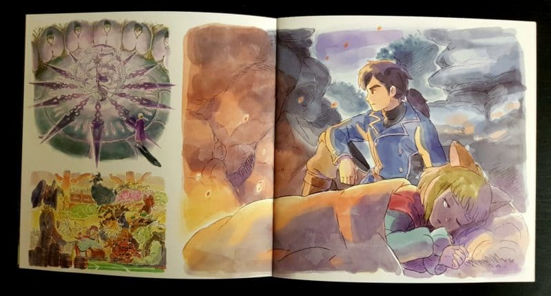 Ni no Kuni 2 OST - illustrations livret