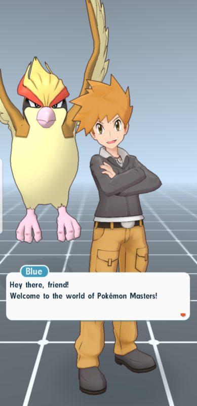 Pokémon Masters - Blue