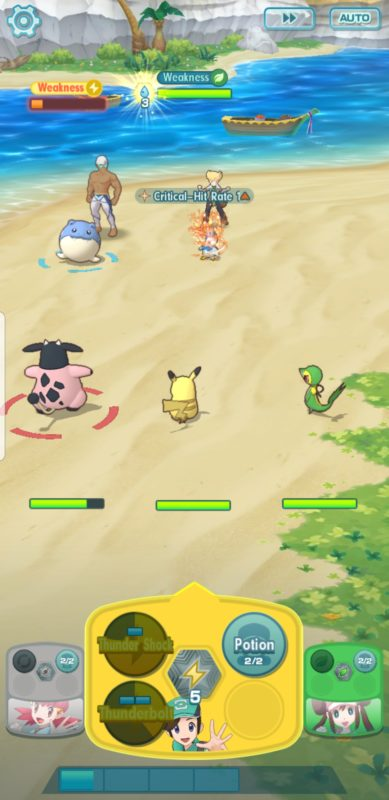 Pokémon Masters - Boss Battle