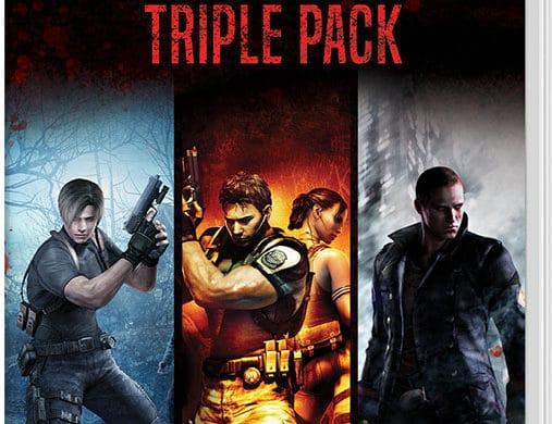 Resident Evil Triple Pack - Jaquette