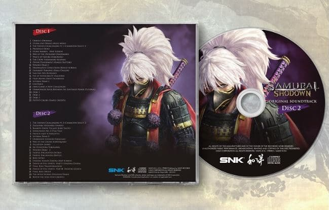 Samurai Shodown OST - disque 2