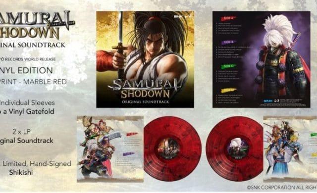 Samurai Shodown OST - vinyles