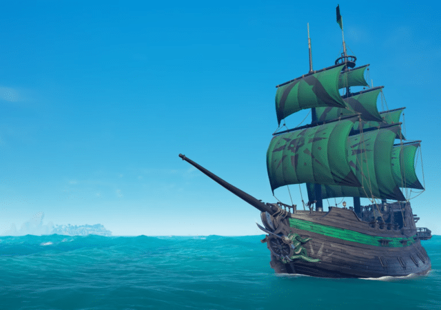 Sea of Thieves bateau obsidienne