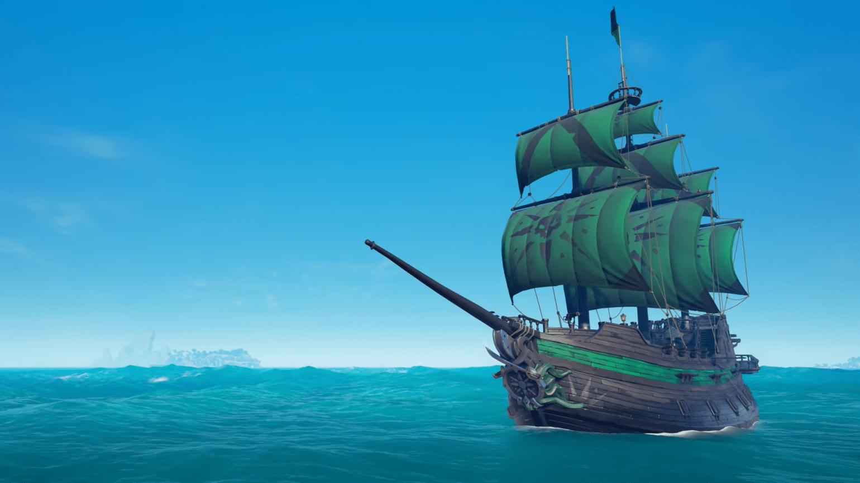 Sea of Thieves bateau obsidienne