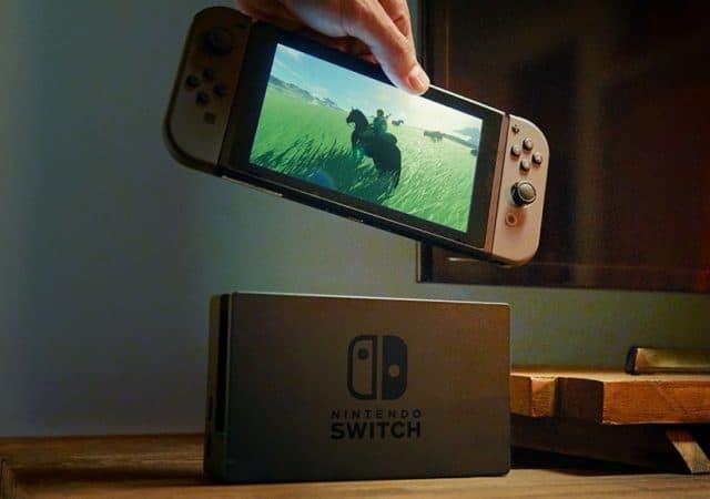 Nouvelle Nintendo Switch batterie