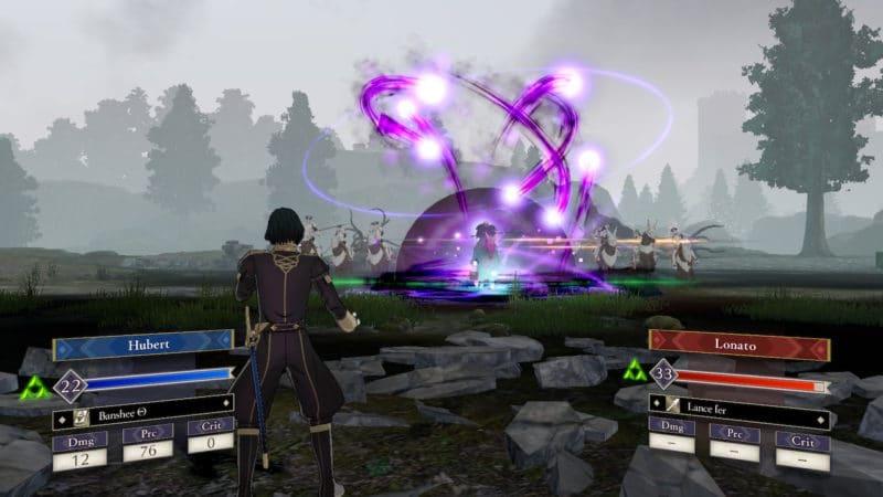 Test Fire Emblem: Three Houses - Attaque magique