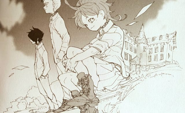 The Promised Neverland t9 - Emma, Ray et Norman