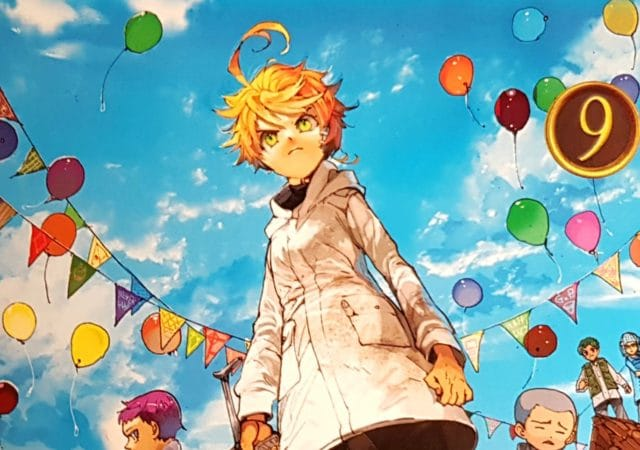 The Promised Neverland t9 - couverture