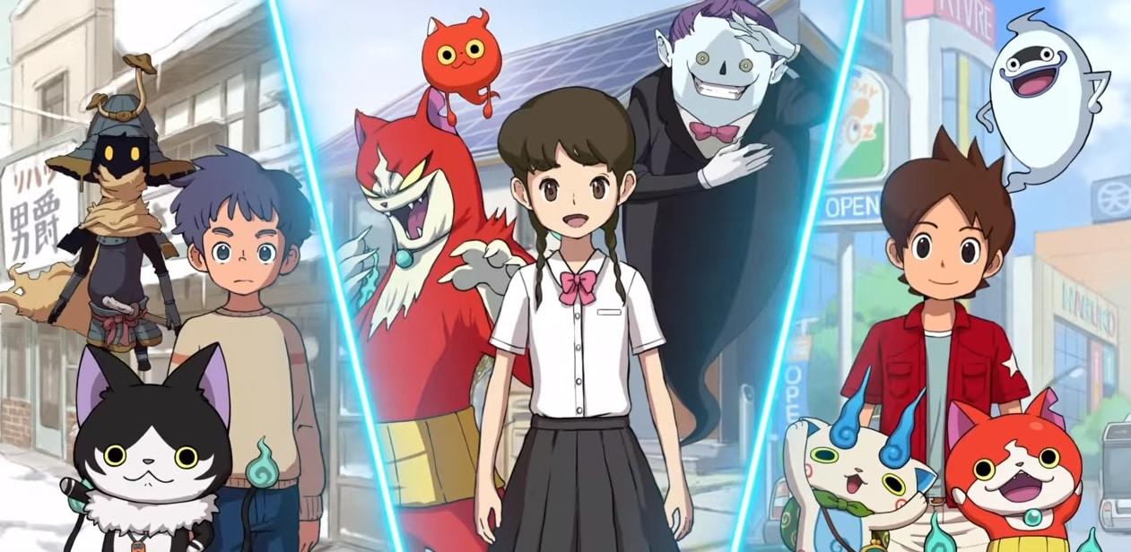 Yo-Kai Watch 4 - Bannière