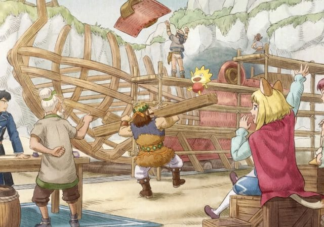 Ni no Kuni II OST illustration