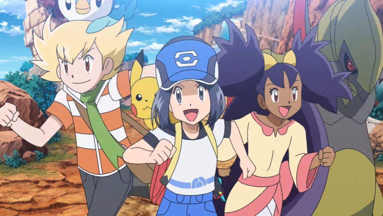 Pokémon Masters - Avatar, Iris et Barry