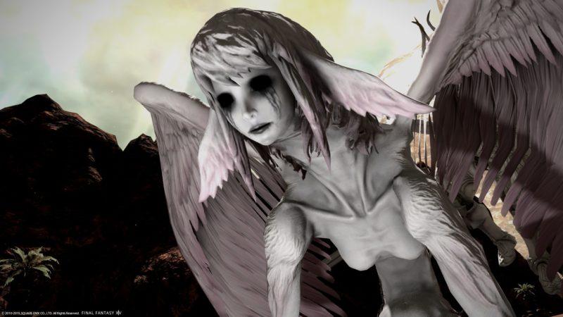 final fantasy XIV - transformation en purgateur