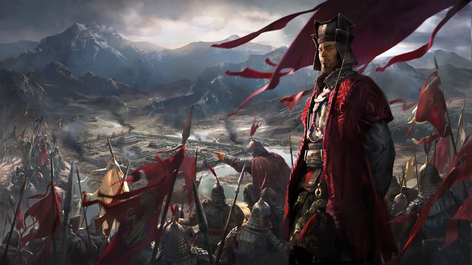Jeu Total War Three Kingdoms sur PC