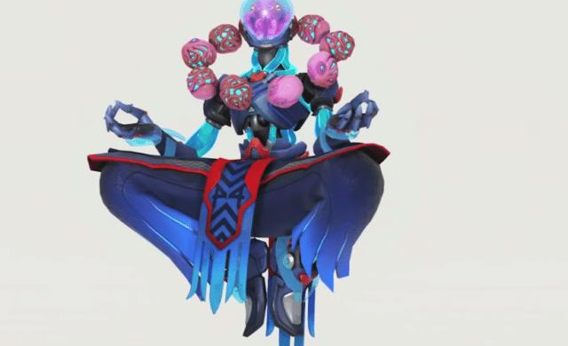 Overwatch Zennyatta skin