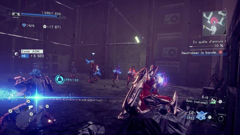Astral Chain - Combat à la chaîne