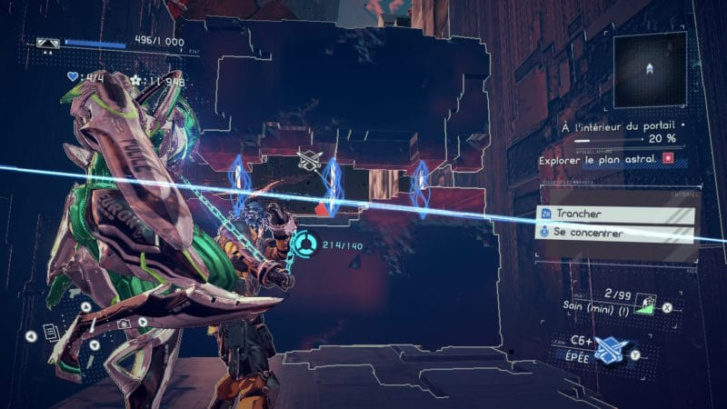 Astral Chain - Puzzle