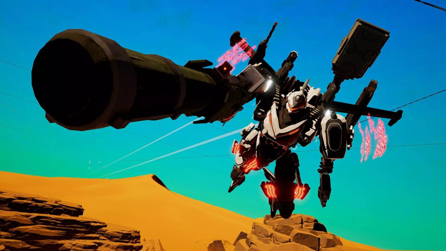 Daemon X Machina - Mechas canon