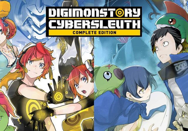 Digimon Story Cyber Sleuth Complete Edition - 2 jaquettes