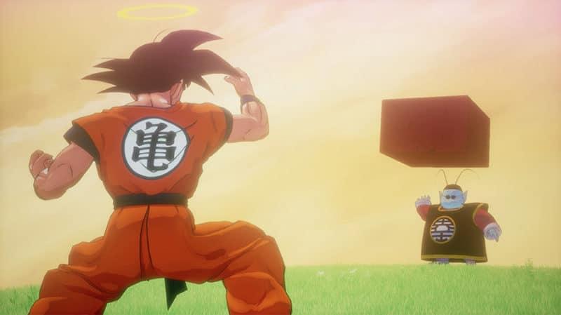 Dragon Ball Kakarot entrainement Kaio