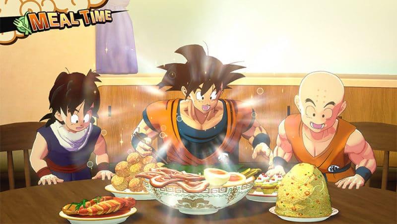Dragon Ball Kakarot Repas