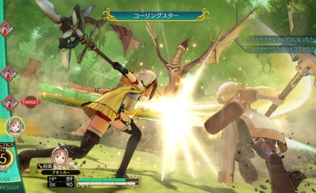 Atelier Ryza: Ever Darkness & the Secret Hideout attaque duo