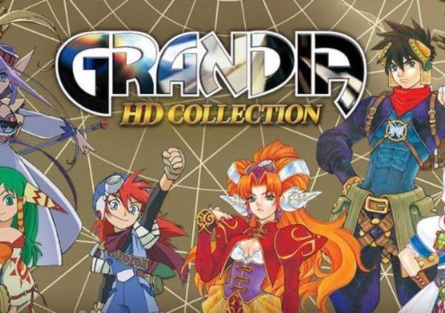 Grandia HD Collection - Bannière