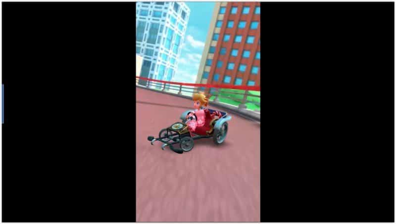 Mario Kart Tour - Peach en yukata