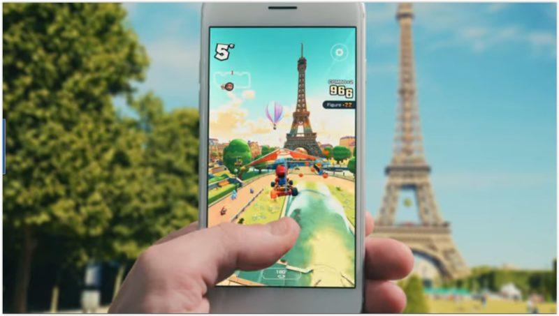 Mario Kart Tour - Tour Eiffel